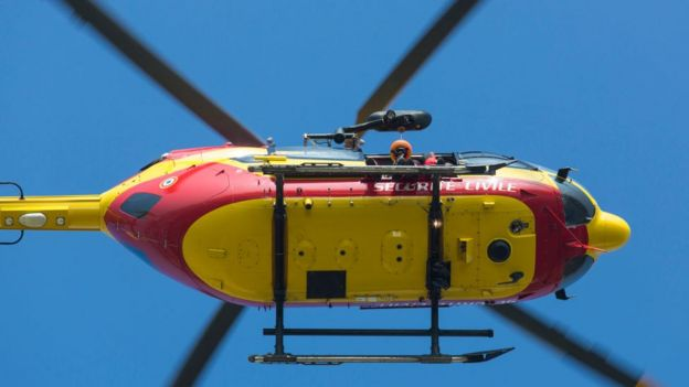 File image of a Eurocopter EC145
