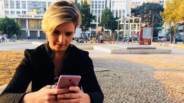 A jornalista Taline Schneider