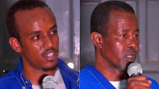 Abdifatah Abdirahman Warsame et Abdishakur Mohamed Dige