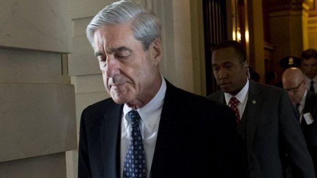Công tố viên đặc biệt Robert Mueller đang dẫn đầu cuộc điều tra về cáo buộc thông đồng giữa Nga và chiến dịch tranh cử của ông Trump