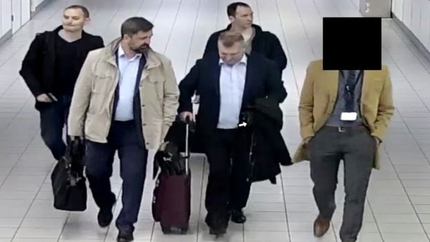 Suspected Russian agents  -  103710226 mediaitem103710224 - How the Dutch foiled Russian 'cyber-attack' on OPCW –