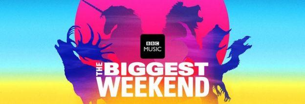 """Le Titanic au festival de la BBC """"The Biggest Weekend"""" _101680326_e2a85e8c-7900-44cc-bcd8-6ab801546141"""