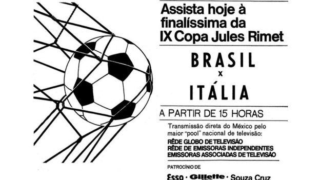 Anúncio Copa 70