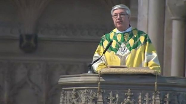 The Bishop of Norwich, the Right Reverend Graham James