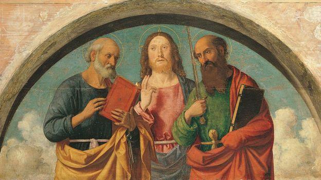 Cristo entre los apóstoles, Mondadori Portfolio