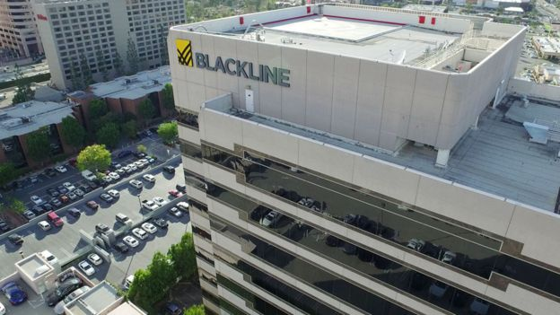 BlackLine's headquarters in Los Angeles