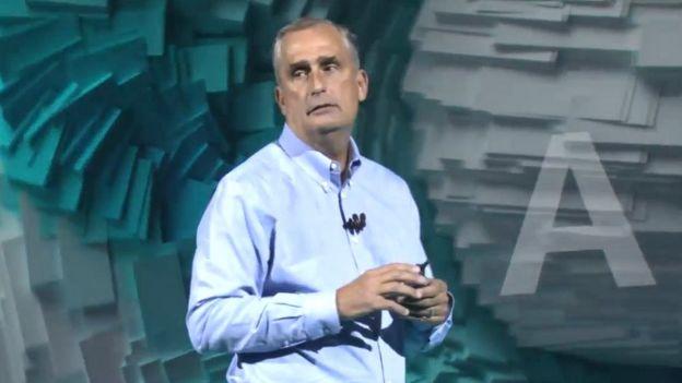 El director ejecutivo de Intel, Brian Krzanich