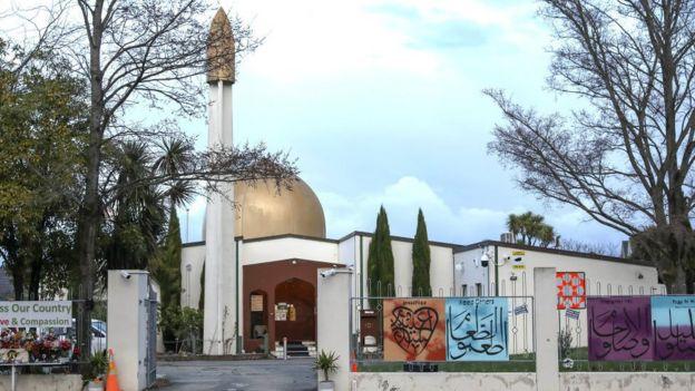 Мечеть Аль-Нур, подвергшаяся нападению