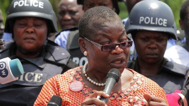Leader of Bring Back Our Girls movement Oby Ezekwesili