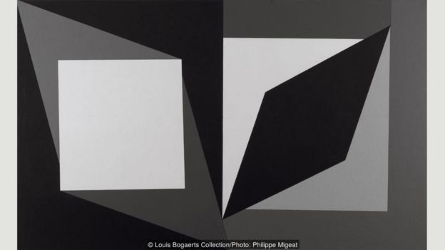 """Hommage à Malévitch"", 1954-1958."