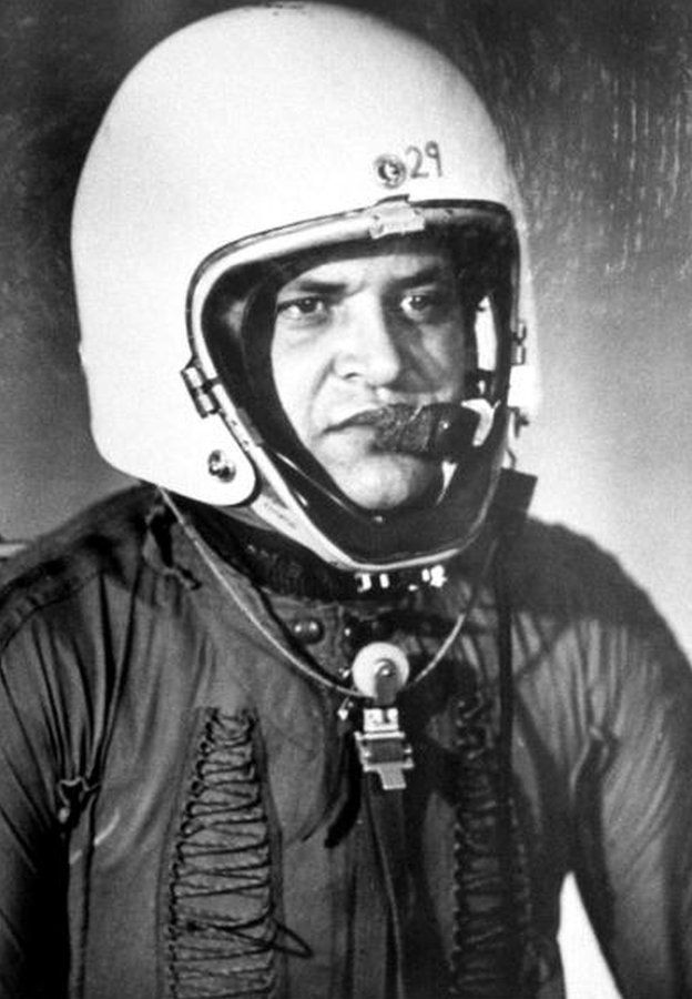 Francis Gary Powers in January 1960
