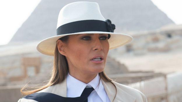Melania Trump, primera dama de Estados Unidos