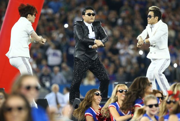 PSY baila Gangnam Style