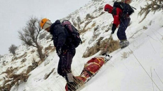 برف و عملیات جستجو و نجات