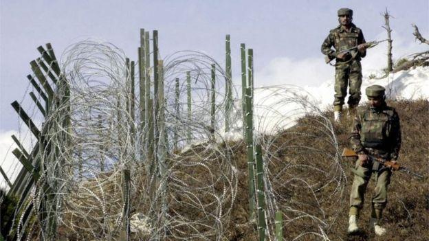 কাশ্মীরে ভারত ও পাকিস্তানের মধ্যেকার নিয়ন্ত্রণরেখা