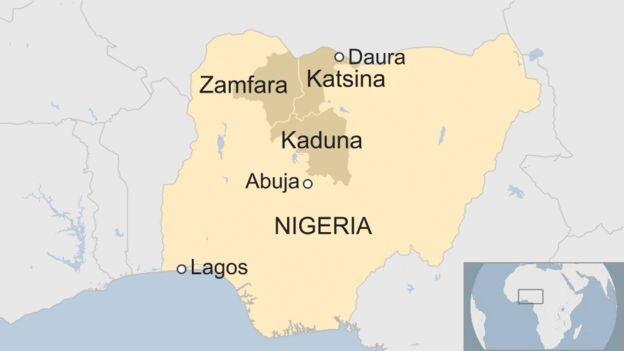How Nigeria and its president are being held to ransom - BBC