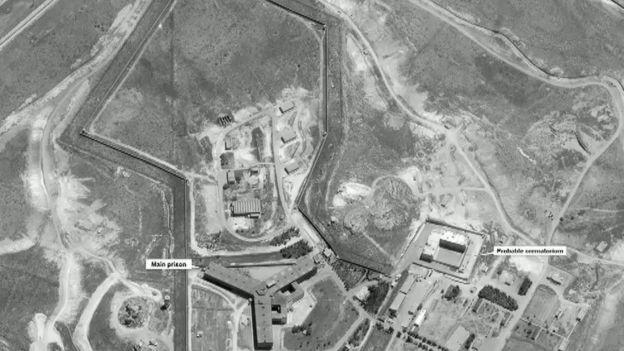 سجن عسكري سوريا