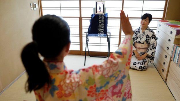 کلاس رقص اینترنتی در توکیو