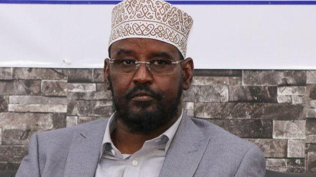 Ahmed Islam Madobe, president of Jubbaland
