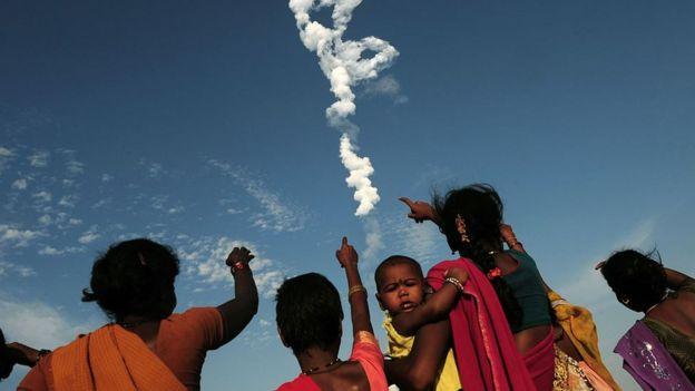 India lanzamiento