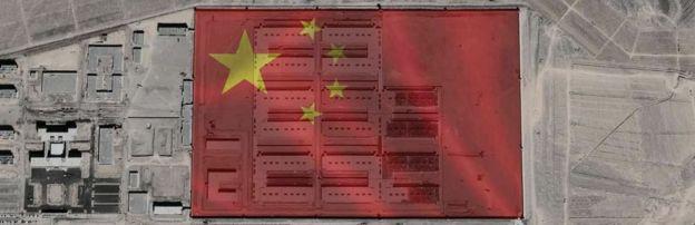 """چین میگوید این کمپها مراکز """"بازآموزشی"""" هستند نه ارودگاه کاراجباری نظیر دوران آلمان نازی"""