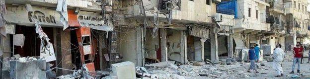 Matokeo ya vita vya kiraia nchini Syria