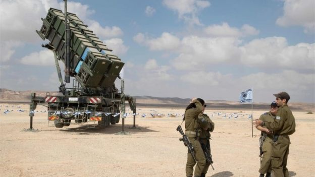Patriot missile launcher in Israel (file photo)
