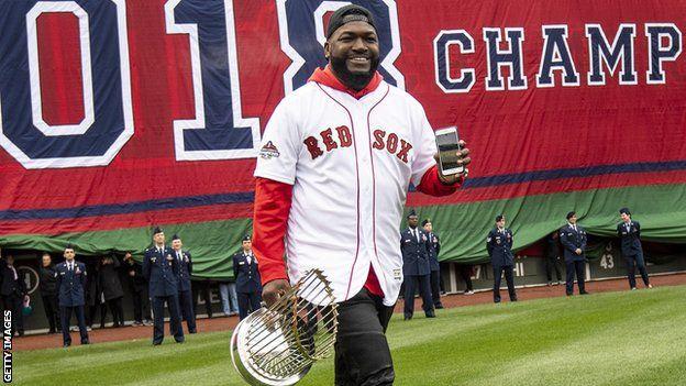 42216ccd David Ortiz: Former Boston Red Sox star shot in back in Dominican Republic  - BBC Sport