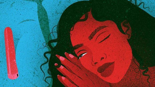 Ilustración de una mujer