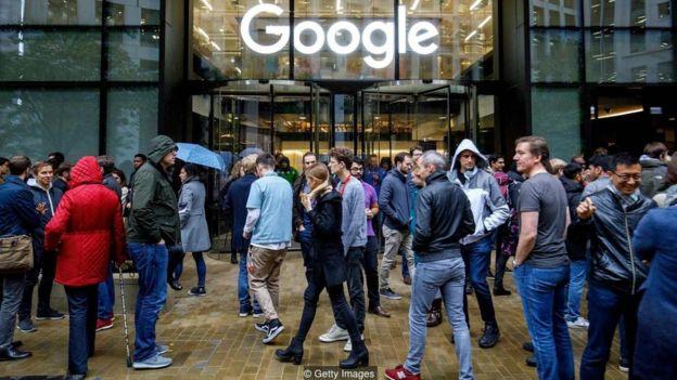 Protesto de funcionários do Google