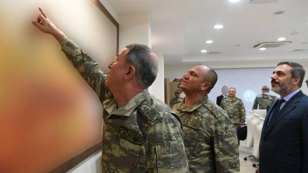 Genelkurmay Başkanı ve MİT Müsteşarı Fidan.
