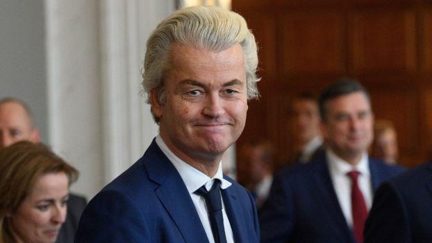 PVV lideri Geert Wilders