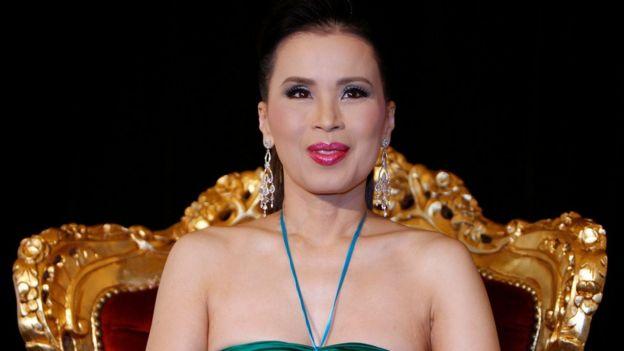 戛纳电影节上的公主乌汶叻