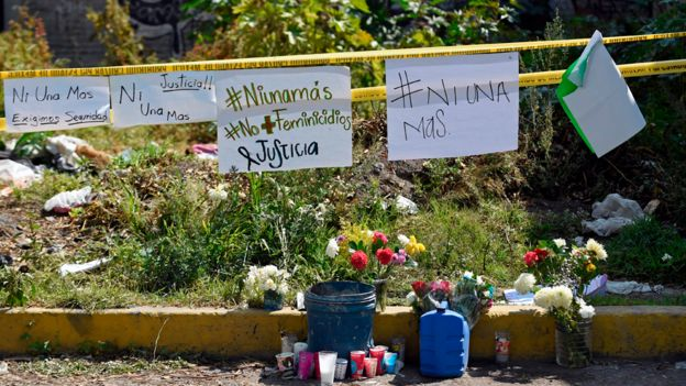 Lugar donde se encontraron algunas de las víctimas