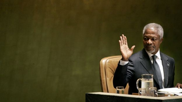 Kofi Annan BM'de