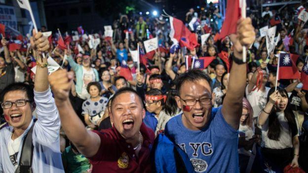 韓國瑜的支持者們