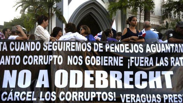 Демонстрация в Панаме