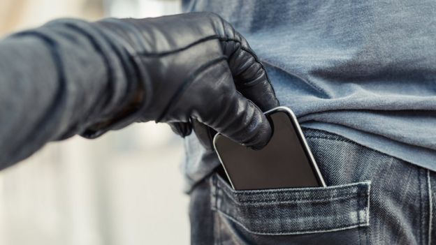 cell phone theft