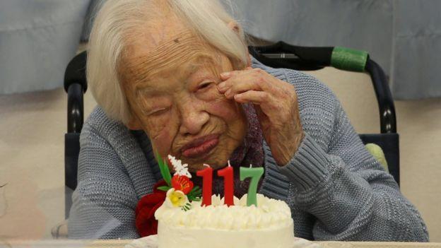 Misao Okawa, ancienne femme plus âgée de l'humanité morte le 1er avril 2015
