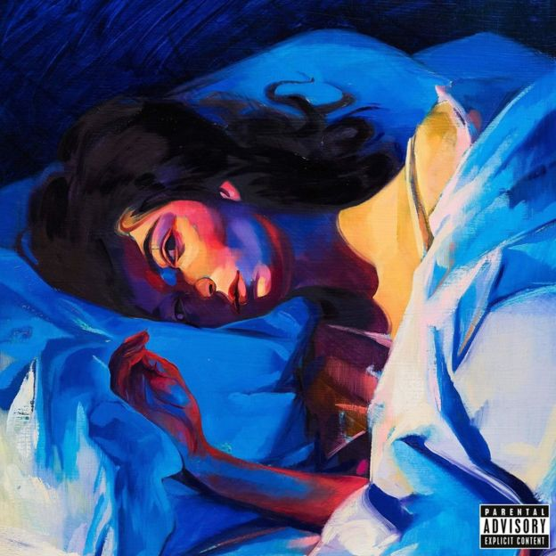 Artwork for Lorde's Melodrama