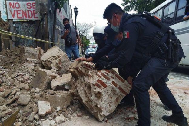 Danos en Oaxaca