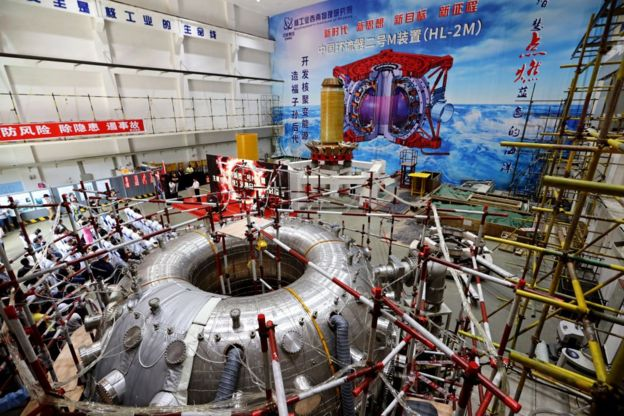 Un reactor Tokamak en China