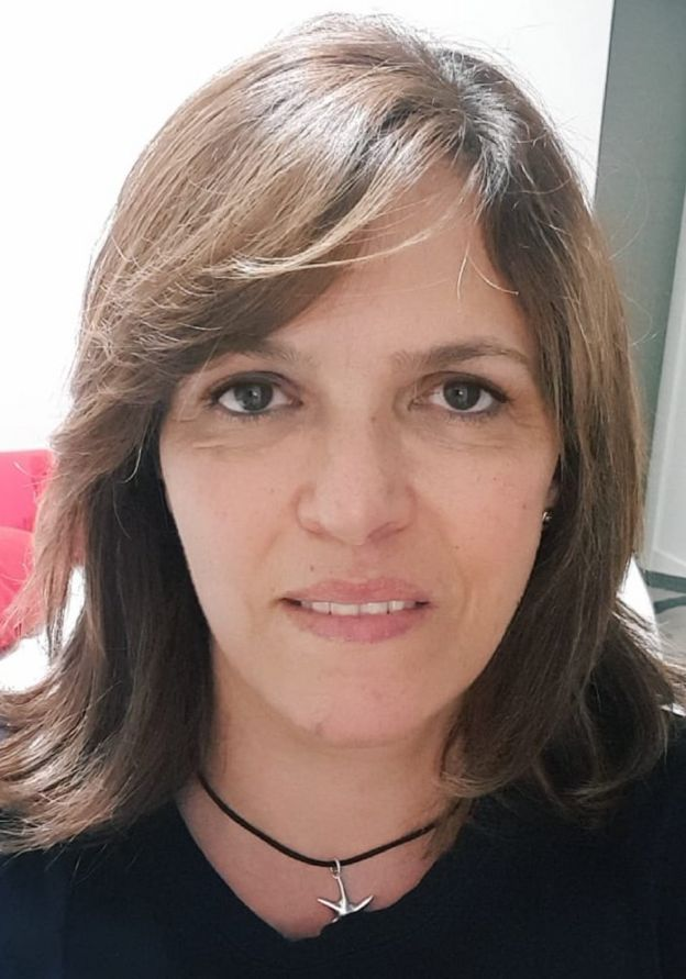 Ligia Palomino Riveros, sobreviviente del accidente del vuelo JK5022 que se estrelló en Madrid en 2008.