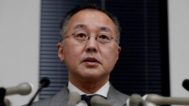 Mr Yamaguchi denies the allegations
