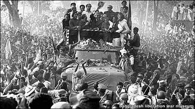 ঢাকায় ফিরলেন শেখ মুজিবুর রহমান, ১০ই জানুয়ারি, ১৯৭২