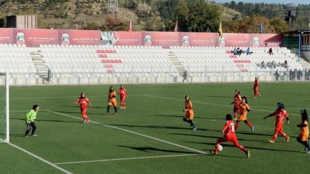 Afghanistan women's football team
