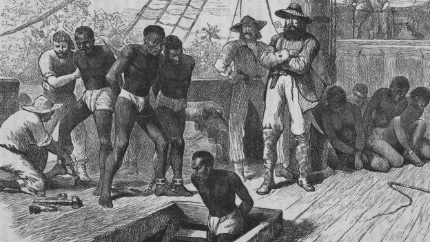 ظلت سفن العبيد تجلب الأسرى من غرب أفريقيا إلى الولايات المتحدة حتى عام 1860