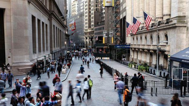 Rua em Nova York