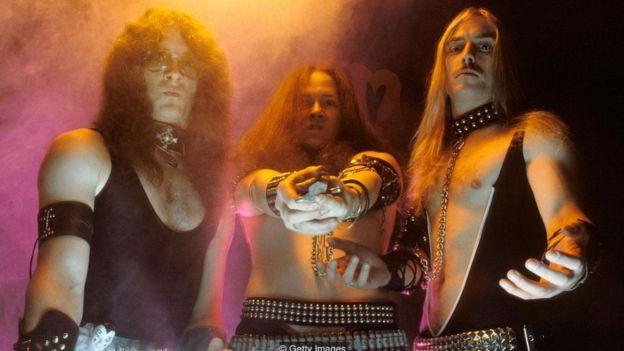 O trio de heavy metal Venom
