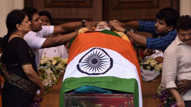 Sasikala: The 'new mother' of Tamil Nadu politics - BBC News